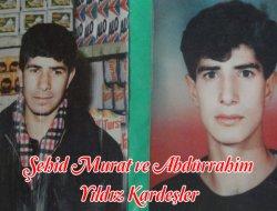 Şehit İki Kardeş: Murat ve Abdurrahim Yıldız