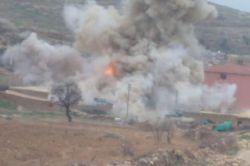 Tuzaklanmış patlayıcılar böyle imha edildi video