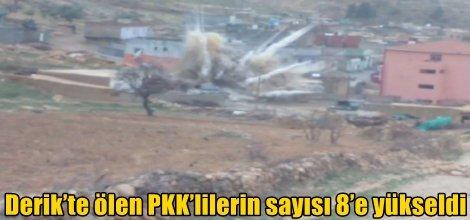 Derik'te ölen PKK'lilerin sayısı 8'e yükseldi