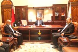 HÜDA PAR Konya İl Teşkilatından Rektör Mustafa Şahin'e ziyaret foto
