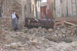 Şiddetli çatışmaların ardından Derik video foto