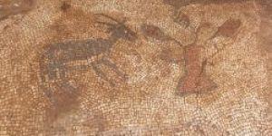 Adıyaman'da bin 500 yıllık mozaikler bulundu