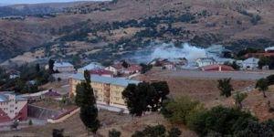 Nazımiye Jandarma Komutanlığına taciz ateşi açıldı