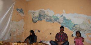 Suriyeli aile kötü şartlarda yaşam mücadelesi veriyor
