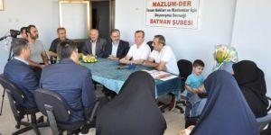 FETÖ mağduru aileler STK ziyaretlerine devam ediyor