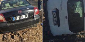 Bismil'da iki otomobil kafa kafaya çarpıştı: 2 ölü, 2 yaralı