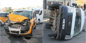 Diyarbakır Gaziler'de trafik kazası: 4 yaralı
