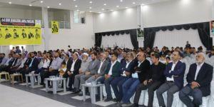 Yasin Börü ve arkadaşları Ergani'de anıldı