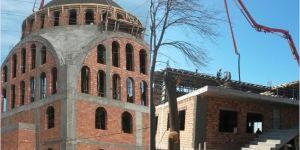 Bismil'de inşaatı devam eden cami yardım bekliyor