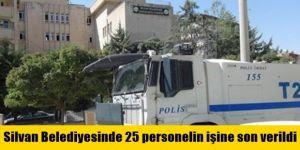 Silvan Belediyesinde 25 personelin işine son verildi