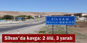 Silvan'da kavga: 2 ölü, 3 yaralı