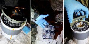 Kocaköy Kokulupınar mevkiinde patlayıcı madde ele geçirildi