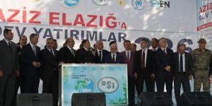 Bakan Eroğlu 8 projenin açılışını gerçekleştirdi