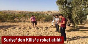 Suriye'den Kilis Elbeyli'ye roket atıldı