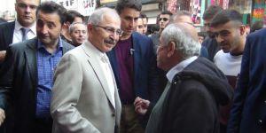 Mardin Valisi Mustafa Yaman'dan Nusaybin esnafına ziyaret