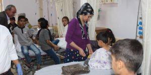 Adıyaman Sincik'te 30 öğrenci yemekten zehirlendi