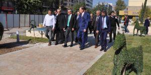 Batman Valisi Ahmet  Deniz yeni park alanında incelemelerde bulundu