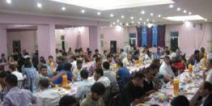 Mustazaflar Cemiyeti Doğubayazıt'ta İftar Yemeği Verdi