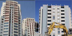 Diyarbakır'daki ikiz kuleler tıraşlandı