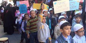 Konya'da namaz eğitimini tamamlayan 50 çocuğa sertifika verildi