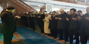 Sabah namazında Halep ve Arakanlılar için gıyabi cenaze namazı kılındı