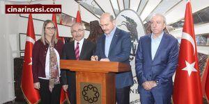 İçişleri Bakanı Süleyman Soylu, Mardin Valiliğine geçti