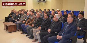 Hasankeyf'te vatandaşla buluşma toplantısı yapıldı
