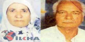 60 yıllık evli yaşlı çift birer saat arayla vefat etti