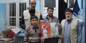 Umut-Der kızları yıllardır kayıp olan aileyi ziyaret etti