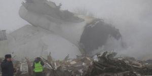 Kargo uçağı yerleşim alanına düştü: 32 ölü