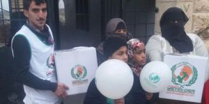 Avrupa Yetim-Der'den Haleplilere yardım