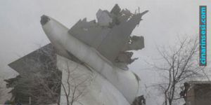 Cargo plane crashes to settlement area: 32 dead