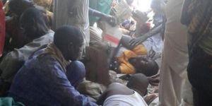 Nijerya ordusu mülteci kampını bombaladı: 100 ölü