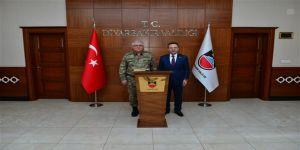 Jandarma Genel Komutan Yardımcısı'ndan Vali Aksoy'a ziyaret