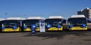 Büyükşehir Belediyesi araç filosuna 10 yeni otobüs