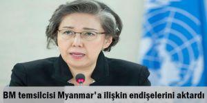 BM temsilcisi Myanmar'a ilişkin endişelerini aktardı