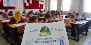 Bursa'da Siyer Sınavı heyecanı yaşandı