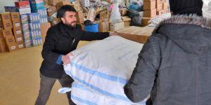 Diyarbakır Sur Belediyesinden Halep'e yardım
