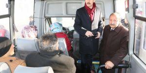 Van Edremit'te şehir içi ulaşımına sıkı denetim