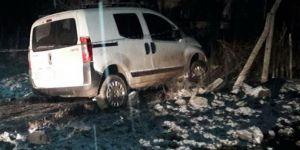 Diyarbakır'da kaza yapan araçta esrar bulundu