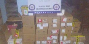 Ağrı'da iş yerinde 38 bin tıbbi ilaç ele geçirildi