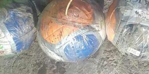 Mardin Dargeçit'te voleybol topuna tuzaklanan bomba imha edildi