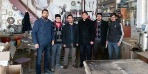HÜDA PAR Van İl Teşkilatının esnaf ziyaretleri sürüyor