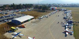Bursa Yunuseli havaalanı 16 yıl aradan sonra tekrar açıldı