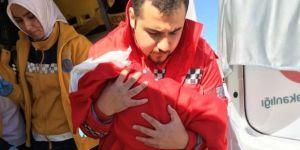 Kalp yetmezliği bulunan bebek İstanbul'a sevk edildi