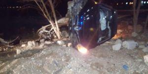 Derik'te trafik kazası: 2 yaralı
