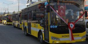 Batman Belediyesi 26 yeni otobüsü hizmete koydu