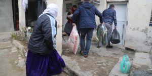 Silopili 110 aileye yardım ulaştırıldı
