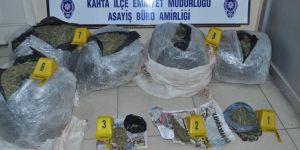 Şüpheli araçta 47 kilogram esrar ele geçirildi