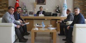 Bismil'de YGS için toplantı yapıldı
